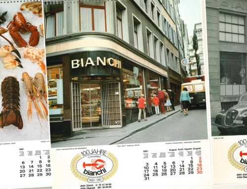Der Bianchi-Kalender von1981
